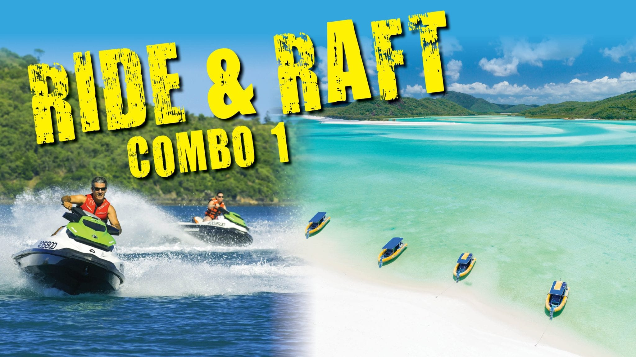 Tours - Whitsunday Jet Ski Tours, Airlie Beach